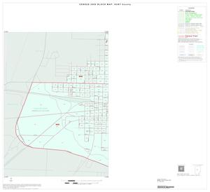 Primary view of object titled '2000 Census County Block Map: Hunt County, Inset D03'.