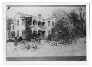 Primary view of object titled '[Orange, Texas Residence in Snow]'.