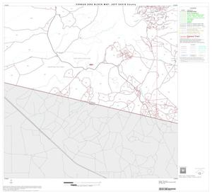 Primary view of object titled '2000 Census County Block Map: Jeff Davis County, Block 11'.