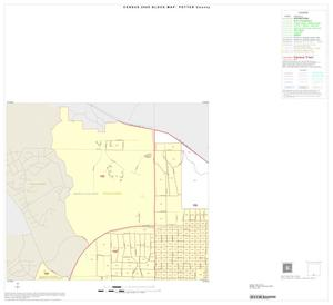 Primary view of object titled '2000 Census County Block Map: Potter County, Inset B01'.