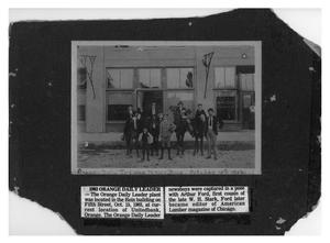 Primary view of object titled 'Orange Leader Daily Tribune Newsboys'.