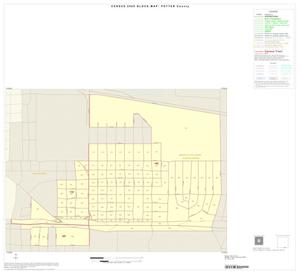 Primary view of object titled '2000 Census County Block Map: Potter County, Inset C01'.