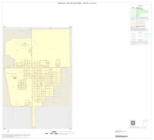 Primary view of object titled '2000 Census County Block Map: Duval County, Inset B01'.