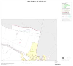Primary view of object titled '2000 Census County Block Map: Sutton County, Inset A02'.