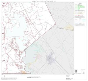 Primary view of object titled '2000 Census County Block Map: Live Oak County, Block 11'.