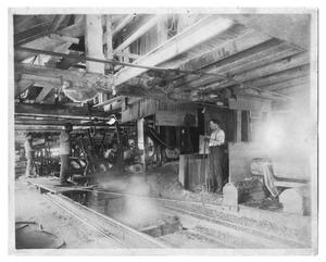 Primary view of object titled 'Lumber Mill and Workers'.