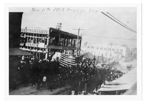 Primary view of object titled 'Armistice Day Parade, Orange, Texas'.