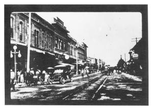 Primary view of object titled 'Front Street Looking East'.