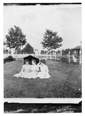 Primary view of object titled 'Three Women with an Umbrella'.