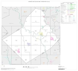 Primary view of object titled '2000 Census County Block Map: Wharton County, Index'.