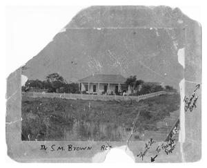 Primary view of object titled 'Dr. S.M. Brown Residence'.