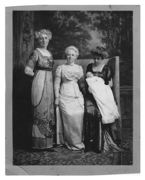 Primary view of object titled 'Four Generations of Women, Portrait'.