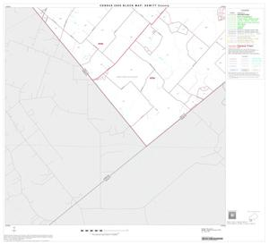 Primary view of object titled '2000 Census County Block Map: DeWitt County, Block 19'.