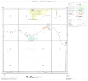 Primary view of object titled '2000 Census County Block Map: Randall County, Index'.