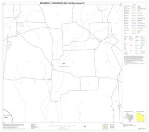 Primary view of object titled '2010 Census County Block Map: Red River County, Block 30'.
