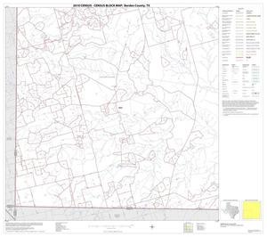 Primary view of object titled '2010 Census County Block Map: Borden County, Block 3'.