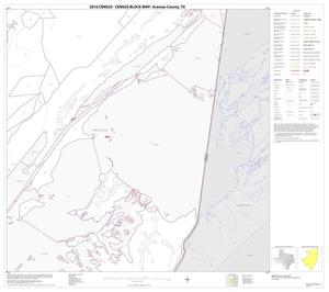 Primary view of object titled '2010 Census County Block Map: Aransas County, Block 6'.