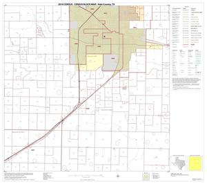 Primary view of object titled '2010 Census County Block Map: Hale County, Block 7'.