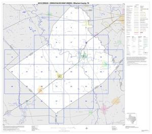 2010 Census County Block Map: Wharton County, Index