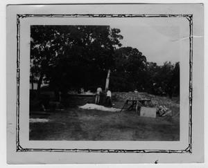 [Emmett McCrary Farm, Vat of Sorghum with Emmett McCrary and J.T.Blagg]