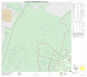 Primary view of object titled '2010 Census County Block Map: Bell County, Inset F01'.