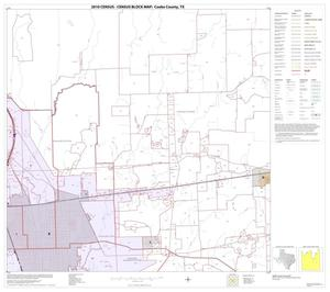 Primary view of object titled '2010 Census County Block Map: Cooke County, Block 16'.