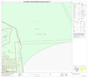 Primary view of object titled '2010 Census County Block Map: Galveston County, Block 27'.