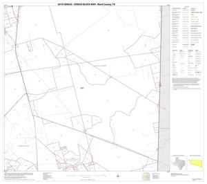 Primary view of object titled '2010 Census County Block Map: Ward County, Block 12'.
