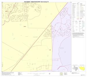 Primary view of object titled '2010 Census County Block Map: Harris County, Block 98'.