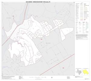 Primary view of object titled '2010 Census County Block Map: Hill County, Inset E01'.