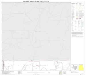 Primary view of object titled '2010 Census County Block Map: Jim Hogg County, Block 1'.