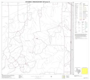 Primary view of object titled '2010 Census County Block Map: Hall County, Block 12'.
