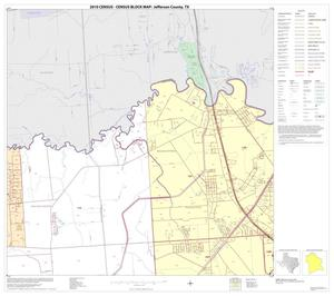Primary view of object titled '2010 Census County Block Map: Jefferson County, Block 2'.