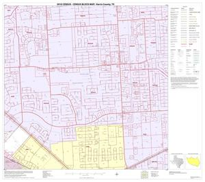 Primary view of object titled '2010 Census County Block Map: Harris County, Block 249'.