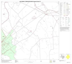 Primary view of object titled '2010 Census County Block Map: Bastrop County, Block 13'.