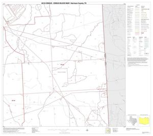 Primary view of object titled '2010 Census County Block Map: Harrison County, Block 10'.