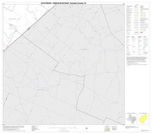 Primary view of object titled '2010 Census County Block Map: Gonzales County, Block 23'.
