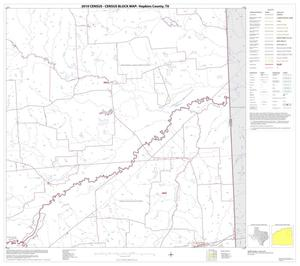 Primary view of object titled '2010 Census County Block Map: Hopkins County, Block 7'.