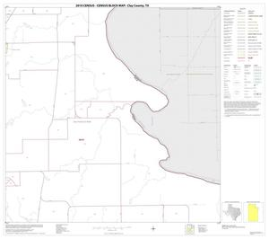 Primary view of object titled '2010 Census County Block Map: Clay County, Block 6'.