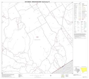 Primary view of object titled '2010 Census County Block Map: Hood County, Block 10'.