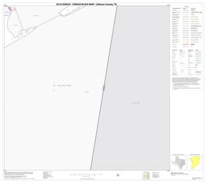 Primary view of object titled '2010 Census County Block Map: Calhoun County, Block 11'.
