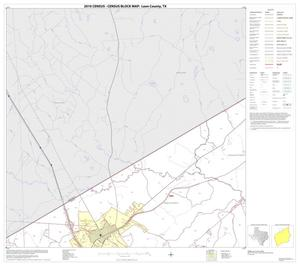 Primary view of object titled '2010 Census County Block Map: Leon County, Block 4'.
