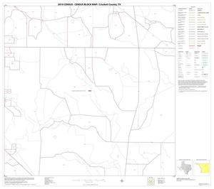 Primary view of object titled '2010 Census County Block Map: Crockett County, Block 13'.
