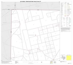 Primary view of object titled '2010 Census County Block Map: Martin County, Block 1'.