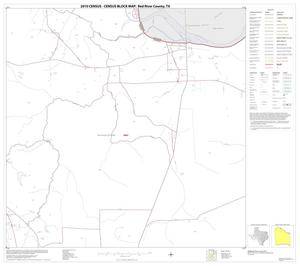 Primary view of object titled '2010 Census County Block Map: Red River County, Block 6'.