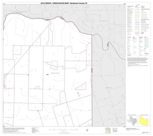 Primary view of object titled '2010 Census County Block Map: Hardeman County, Block 7'.
