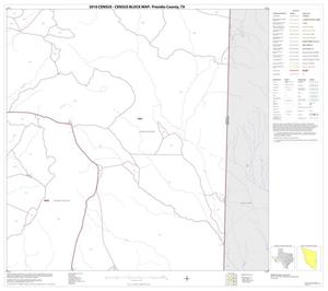 Primary view of object titled '2010 Census County Block Map: Presidio County, Block 51'.