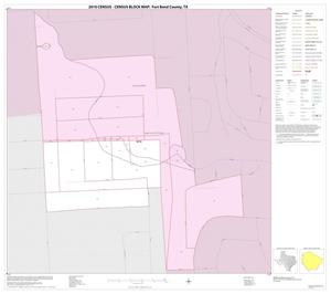 Primary view of object titled '2010 Census County Block Map: Fort Bend County, Inset D01'.