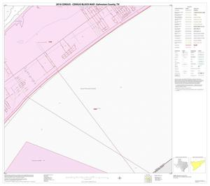 Primary view of object titled '2010 Census County Block Map: Galveston County, Block 29'.