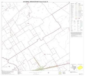 Primary view of object titled '2010 Census County Block Map: Navarro County, Block 8'.
